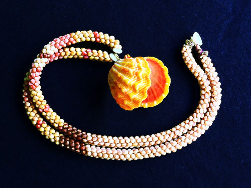 Two Strand Rope with Fall Sunrise Shell