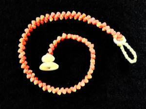 Pink One Strand Bracelet