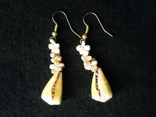 Green Cones Earrings