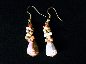Spotted Cones Earrings