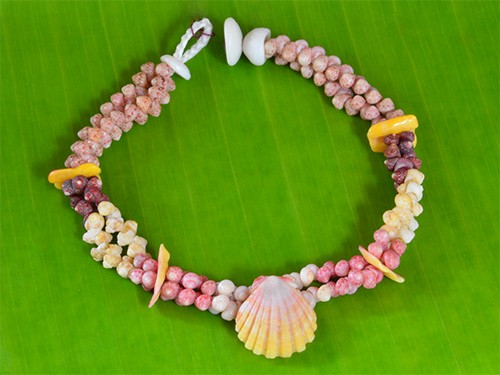 Kahelelani and Sunrise Shell Bracelet