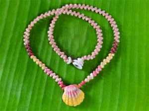 Kahelelani and Sunrise Shell Necklace