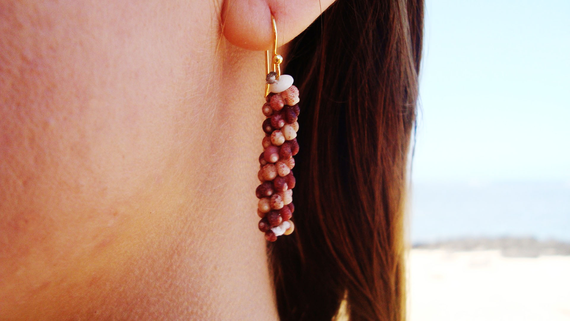 34E - Kahelelani Shell Earrings